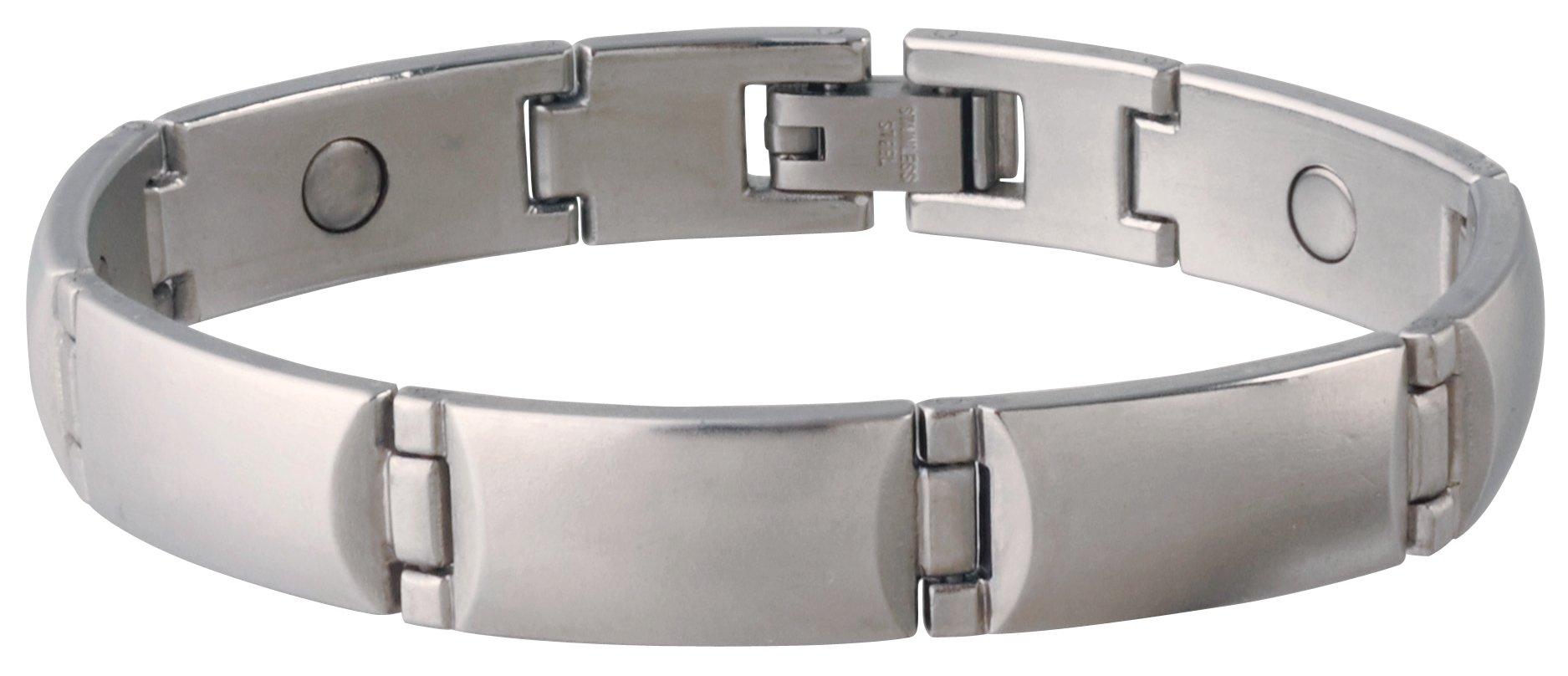 Sabona Steel Magnetic Bracelet, Large/X-Large