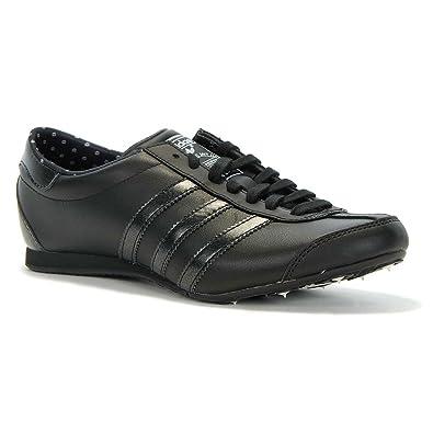 Adidas Aditrack Cuir Chaussures Baskets W Femmes Noir De Sport wN8k0nXOP