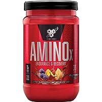 BSN Amino X BCAA poeder, suikervrije aminozuren complex hoge dosis met vitamine D, vitamine B6, arginine, taurine en…
