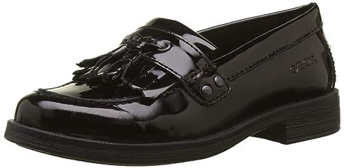 Geox 66C9999 J Agata A - Mocasines de cuero para mujer, Negro (Black C9999), 41 EU: Amazon.es: Zapatos y complementos
