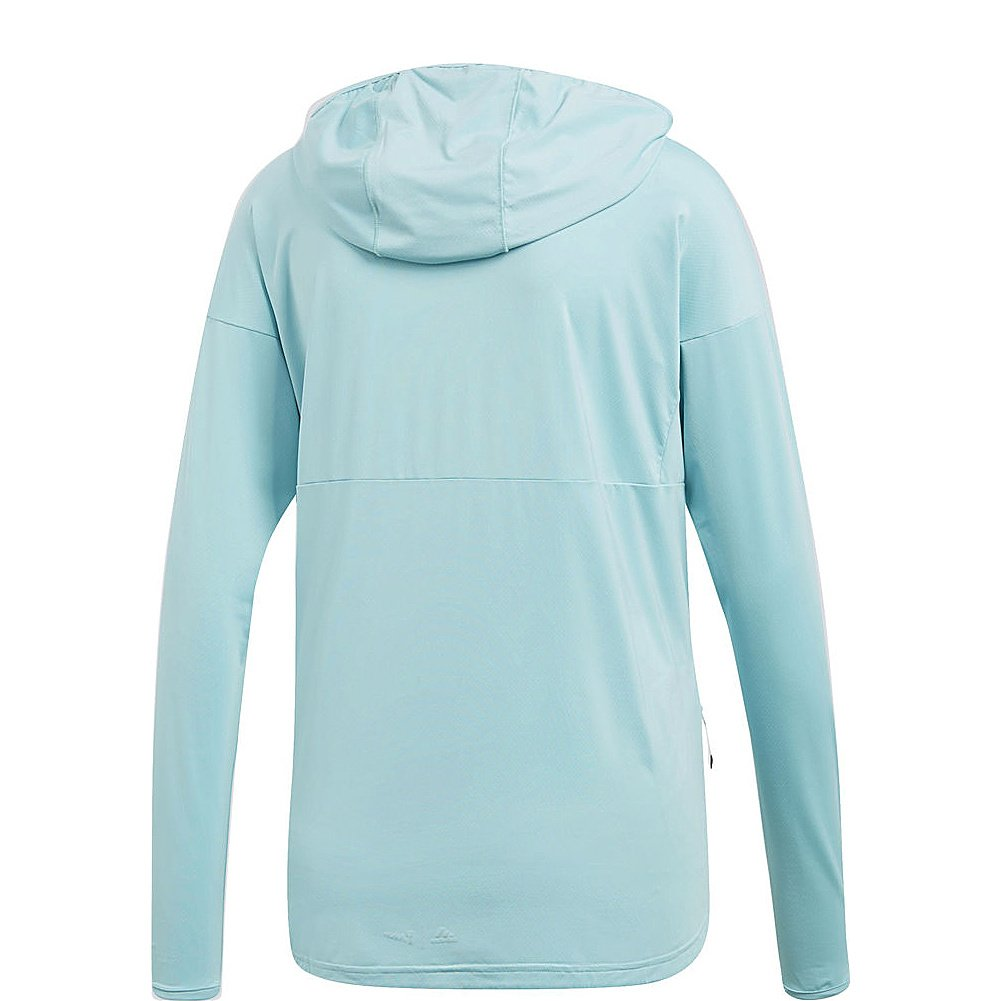 super popular 143b6 b6694 adidas Sport Performance Womens Voyager Parley Hoodie at Amazon Womens  Clothing store