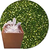 Glitter My World! Craft Glitter: 25lb Box: Lime Luster