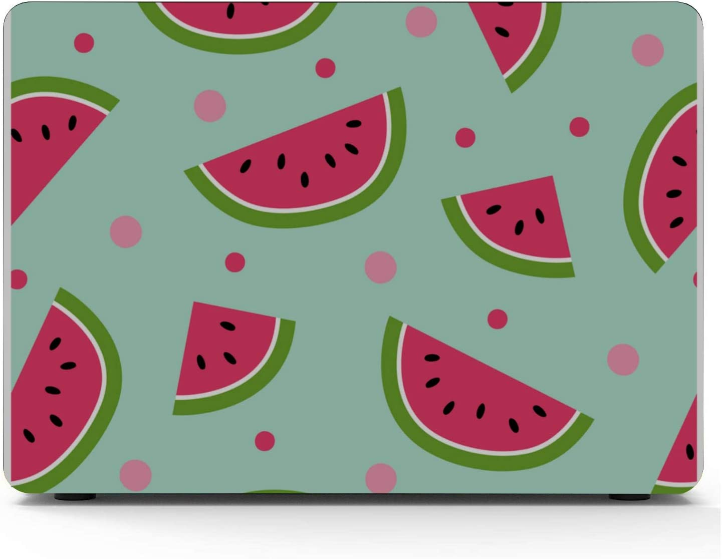 MacBook 13 Cover Summer Sweet Cool Fruit Watermelon Plastic Hard Shell Compatible Mac Air 11 Pro 13 15 MacBook Pro 2017 Accessories Protection for MacBook 2016-2019 Version