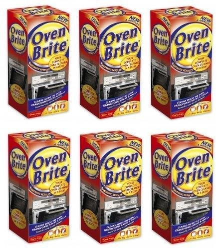6 x Oven Brite - 500ML - Bottle Bag & Gloves Included - Complete Oven Cleaner 151