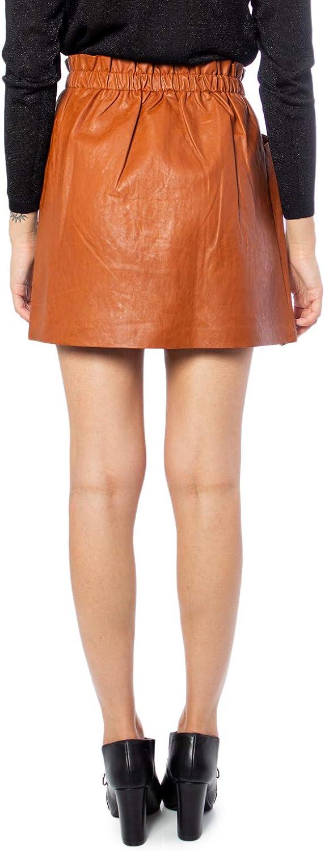 ONLY Damen Onldarling Faux Leather Skirt OTW Rock