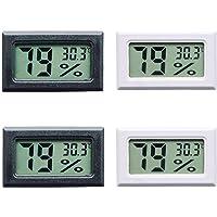 Thlevel Mini Termómetro Higrómetro Digital Interior de Temperatura