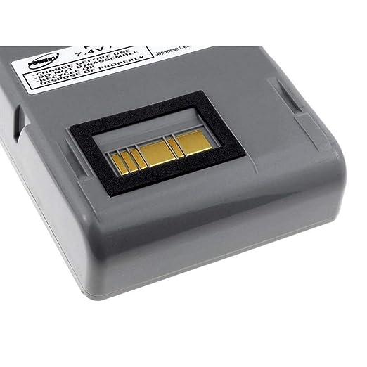 Batería para impresora de código de barras Zebra RW420, 7,4V ...
