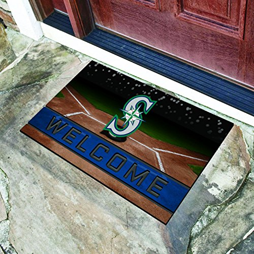 StarSun Depot Washington Crumb Rubber Door Mat MLB - Seattle Mariners (Seattle Mariners Door Mat)