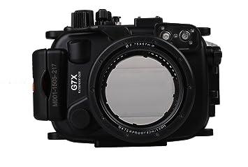 Polaroid SLR Carcasa de Buceo, sumergible, resistente al agua, para Canon G7X