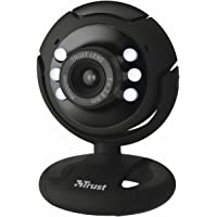 Trust SpotLight Webcam Pro con risoluzione 1280 x 1024 e luci LED