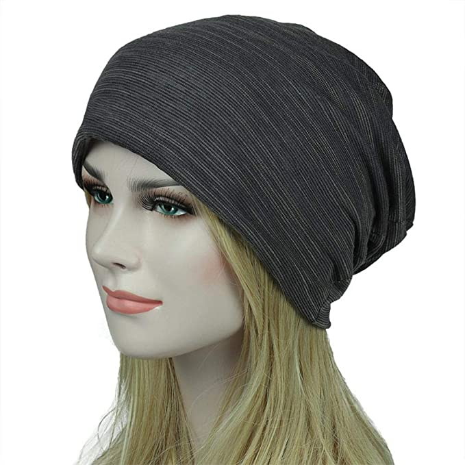 279efe2d1d971 Amazon.com   Egmy👒 Clearance Sale ❤ Unisex Men Women Head Cap Outdoor  Fashion Summer Hip-hop Casual Scarf Hat (Gray)   Garden   Outdoor
