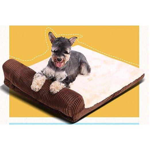 GOUWOA Cama para Mascotas Camas para Perros para Perros ...