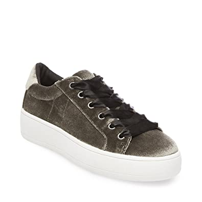 3f207a0218b Steve Madden Women s Bertie-v Taupe Sneaker 5 US  Amazon.co.uk ...