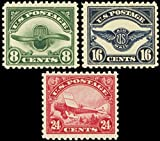 Second Three 1923 Airmail Stamps Issued By The United States Mint Never Been Hinged Scott C4-6 By USPS