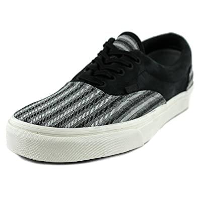 f5330a889a Vans Era CA Italian Weave Nubuck Black Mens Shoes (7.5 Mens 9 Womens