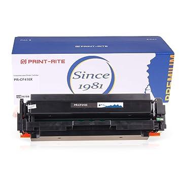 Amazon.com: Print-Rite cartucho de tóner para HP 410 X CF410 ...