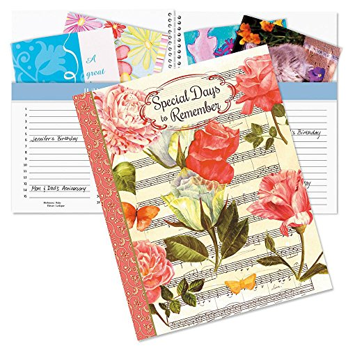 - Roses Greeting Card Organizer Book