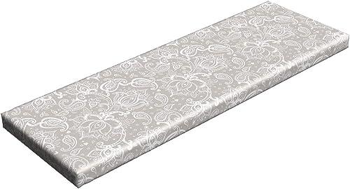 Lunarable Paisley Bench Pad