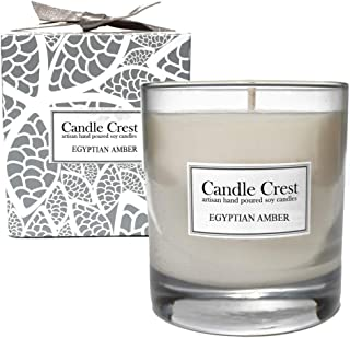 product image for Candle Crest Soy Candles Inc Egyptian Amber Scented Soy Candle Made in The USA