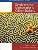 Developmental Mathematics for College Students, Tussy, Alan S. and Gustafson, R. David, 0534997775