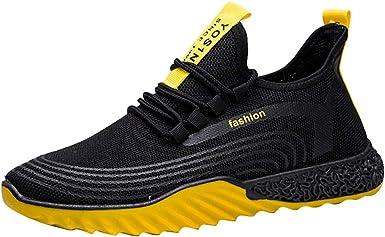 Zapatillas Running Hombre Antideslizantes Ligeras Zapatillas de Correr Casual para Deportivas de Malla Antideslizante Resistente al Desgaste Calzado Deportivo Casual Calzado de Trabajo JiaMeng_ZI: Amazon.es: Ropa y accesorios