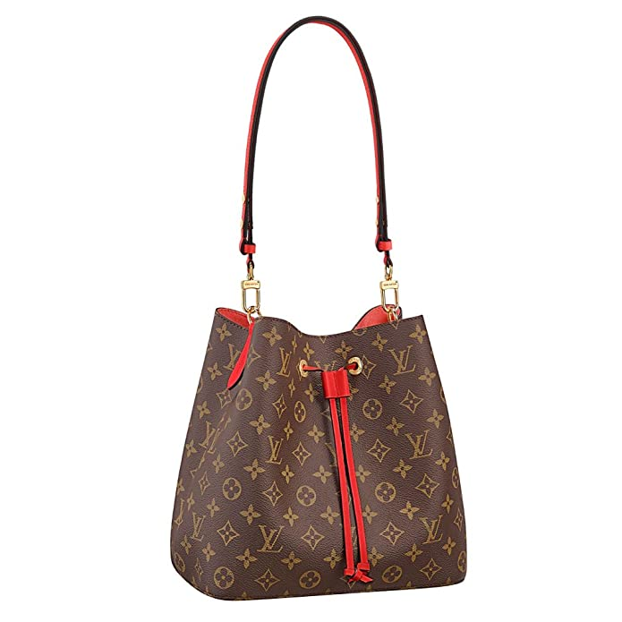 15e38cb58455 Louis Vuitton Monogram Canvas Neonoe Adjustable Strap Handbag  Article:M44021 Made in France: Handbags: Amazon.com