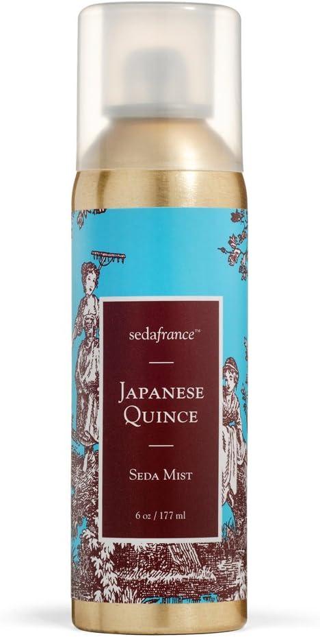 Seda France Classic Toile Room Mist, Japanese Quince, 6 Ounce