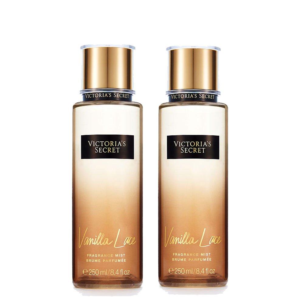 Victoria's Secret - Vanilla Lace - Fragrance Mist 8.4 Ounce (2pcs set)