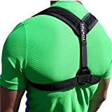 Back Posture Corrector Brace - Relief Cervical Neck Pain - Improve Shoulder and Clavicle Alignment or Bad Slouching - Comfortable Medical Figure 8 Correction Device for all Family