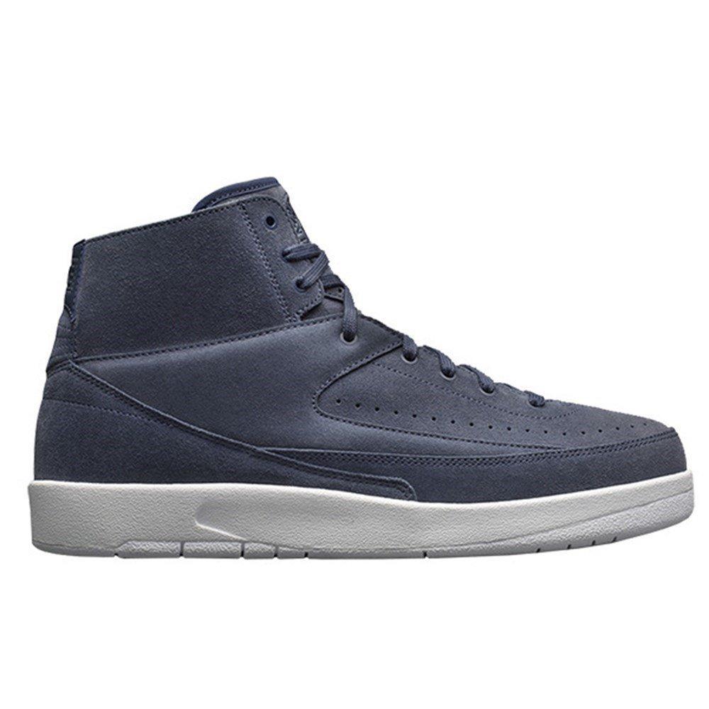 Nike - Jordan Retro II - 897521402 - Farbe  Weiß-Blau - Größe  46.0