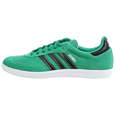 newest 550b7 8c544 adidas Originals Mens Samba Reflective Sneaker,FairwayBlackWhite,11.5 M