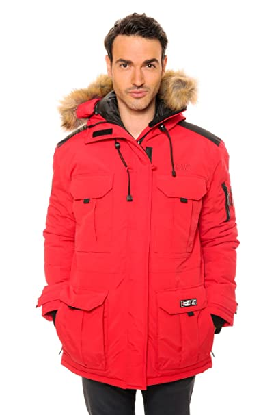 Canadian Peak - Parka Ascoli Rojo Rojo Medium: Amazon.es: Ropa y accesorios
