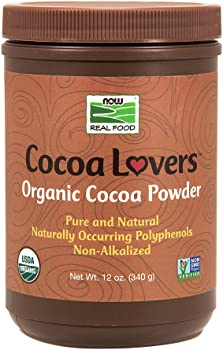 NOW Foods Unsweetened Organic Cocoa Powder