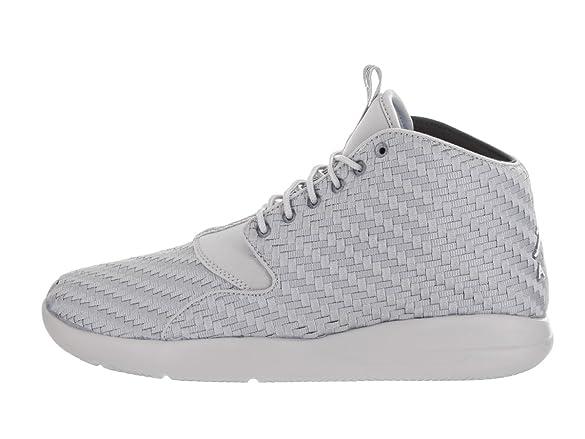 Amazon.com | Nike Jordan Men's Jordan Eclipse Chukka Wolf Grey/White Black  Basketball Shoe 7.5 Men US | Basketball