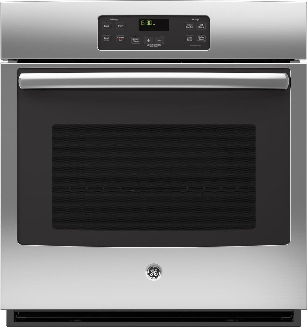 GE JK1000SFSS 27'' Stainless Steel Electric Single Wall Oven