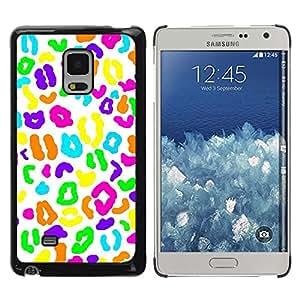 Caucho caso de Shell duro de la cubierta de accesorios de protección BY RAYDREAMMM - Samsung Galaxy Mega 5.8 9150 9152 - Candy White Biology Pattern
