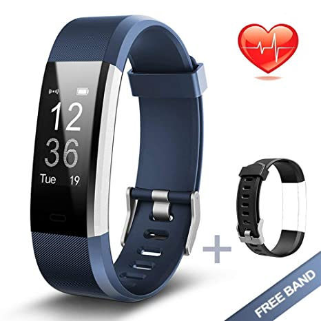 PHIPUDS Bluetooth Smart Watch, Health & Fitness Tracker Smartwatch ...