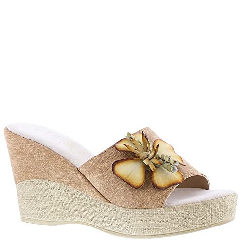 0627b9017365 Easy Street Tuscany Castello Women s Sandal 11 B(M) US Tan  Amazon.co.uk   Shoes   Bags