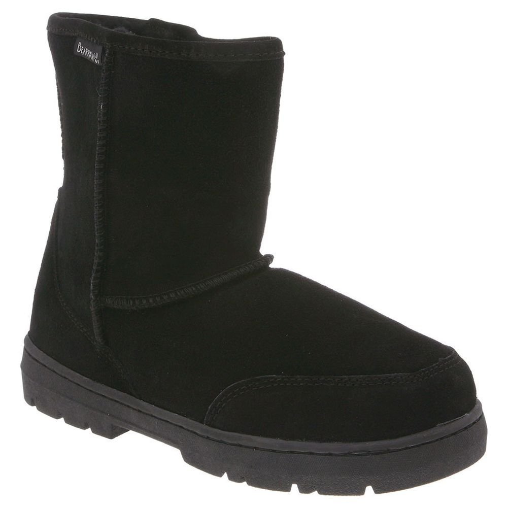 BEARPAW Men's Patriot Snow Boot,Black,11 M US by BEARPAW