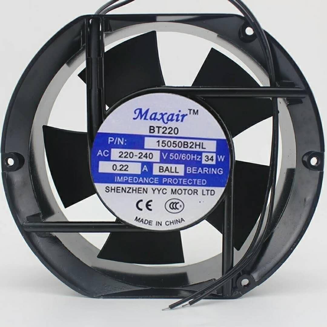 Für Maxair Bt220 15050b2hl Ac Lüfter 220 V 0 22 A Ball Computers Accessories