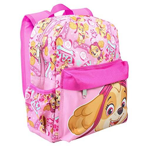 Paw Patrol Allover Print Skye 12 Girls Small Backpack