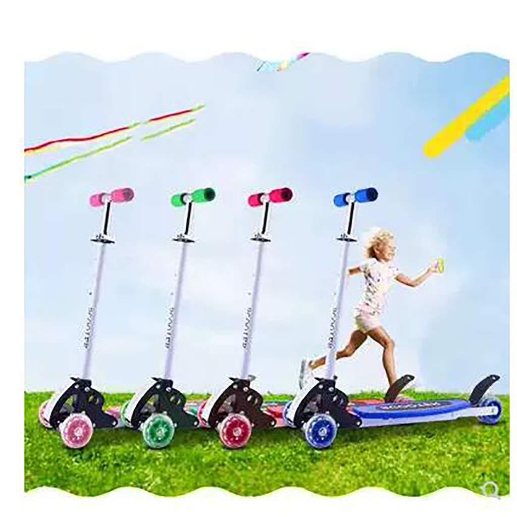 Der Geschmack von zu Hause Roller-Kinder dreirädriges Jungen-Mädchen-Kinderspielzeug (Farbe     Grün) B07Q5S8LGG Skateboards Ideales Geschenk für alle Gelegenheiten 1f1ad1