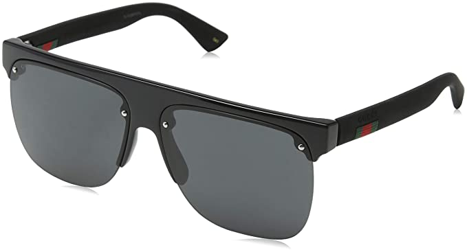Gucci GG0171S 002 Gafas de sol, Negro (2/Grey), 60 para ...