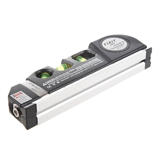 Nivel Horizon SODIAL® ilovehandles Vertical cinta métrica sisar 243,84 cm negro: Amazon.es: Bricolaje y herramientas