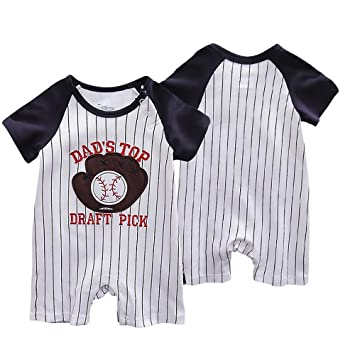 6a74e43339b Amazon.com   Nicedeal Baby Girl Coverall Summer Kids Rompers Boy Bodysuits  Newborn Jumpers Playsuit Infant Outfits for 73cm Baseball Gloves Baby Tools  for ...
