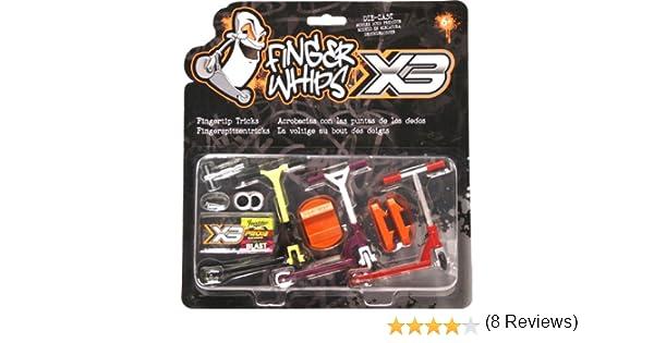 Finger Whips X3 FIN-PRO3PK - Patinete para Dedos (3 Unidades)