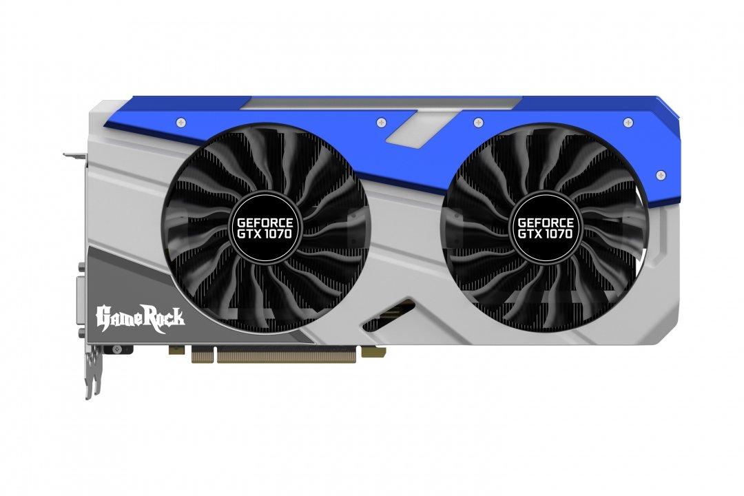 Palit NVIDIA GeForce GTX 1070 GameRock+ GeForce GTX 1070 8GB GDDR5 ...