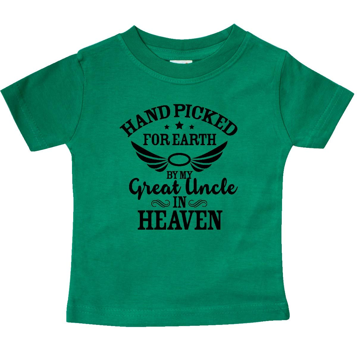 inktastic Handpicked for Earth by My Great Uncle in Heaven Baby T-Shirt