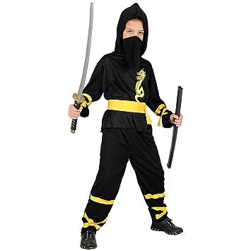 Dragon Ninja - Kids Costume 8 - 10 years: Amazon.es ...