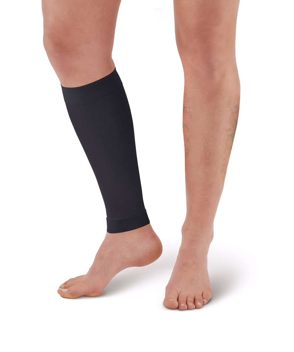 SWOLF Medical Calf Compression Sleeve, Women Men 20-30 mmHg Footless Compression Socks for Shin Splint, Varicose Veins